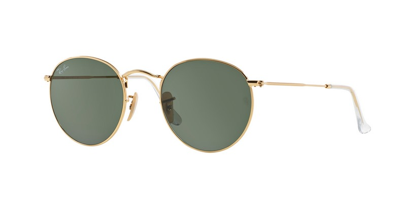 3173cbea93 Ray-Ban ROUND METAL RB3447 001 | Sunglasses